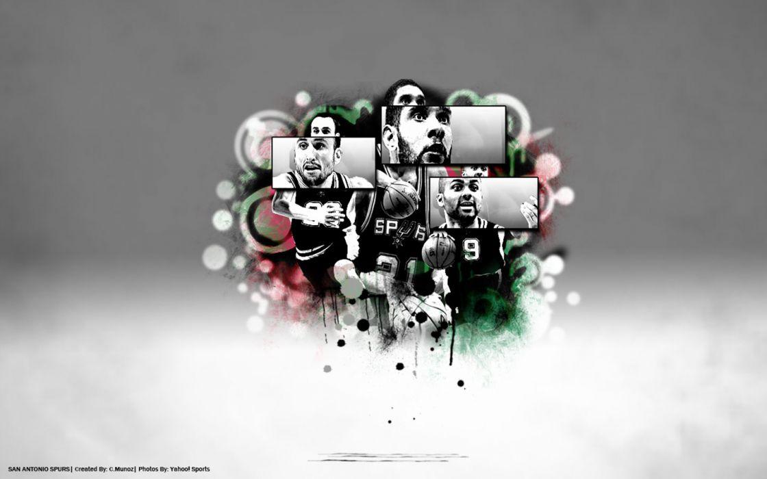 SAN ANTONIO SPURS basketball nba (39) wallpaper