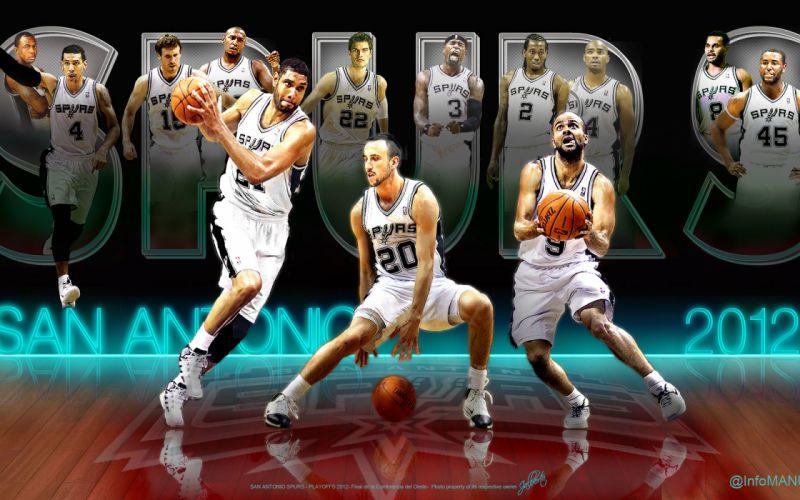 SAN ANTONIO SPURS basketball nba (53) wallpaper