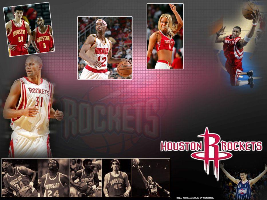 HOUSTON ROCKETS basketball nba (2) wallpaper