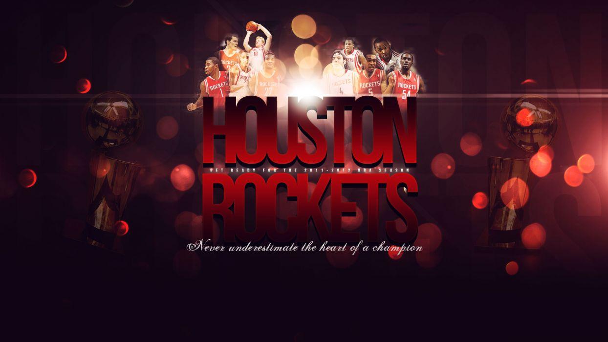 HOUSTON ROCKETS basketball nba (28) wallpaper