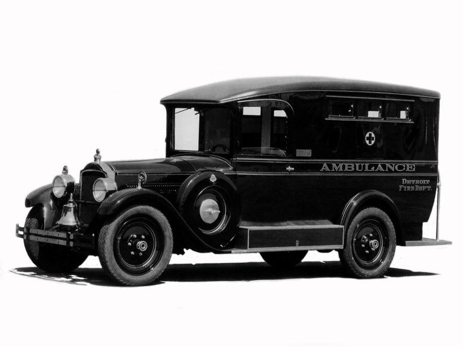 1927 Packard Six Comissary Ambulance (433) retro emergency     g wallpaper
