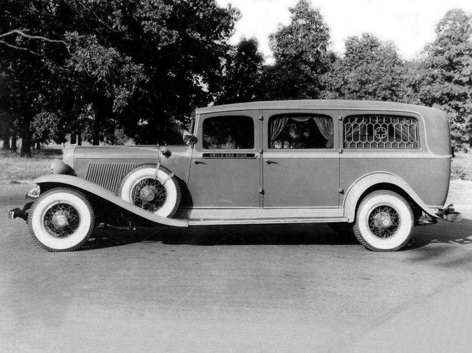1932 Superior Auburn Ambulance emergency stationwagon retro     g wallpaper