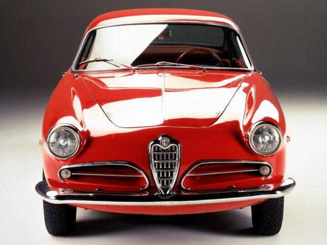 1956-58 Alfa Romeo 1900 Super Sprint (1484) retro u wallpaper