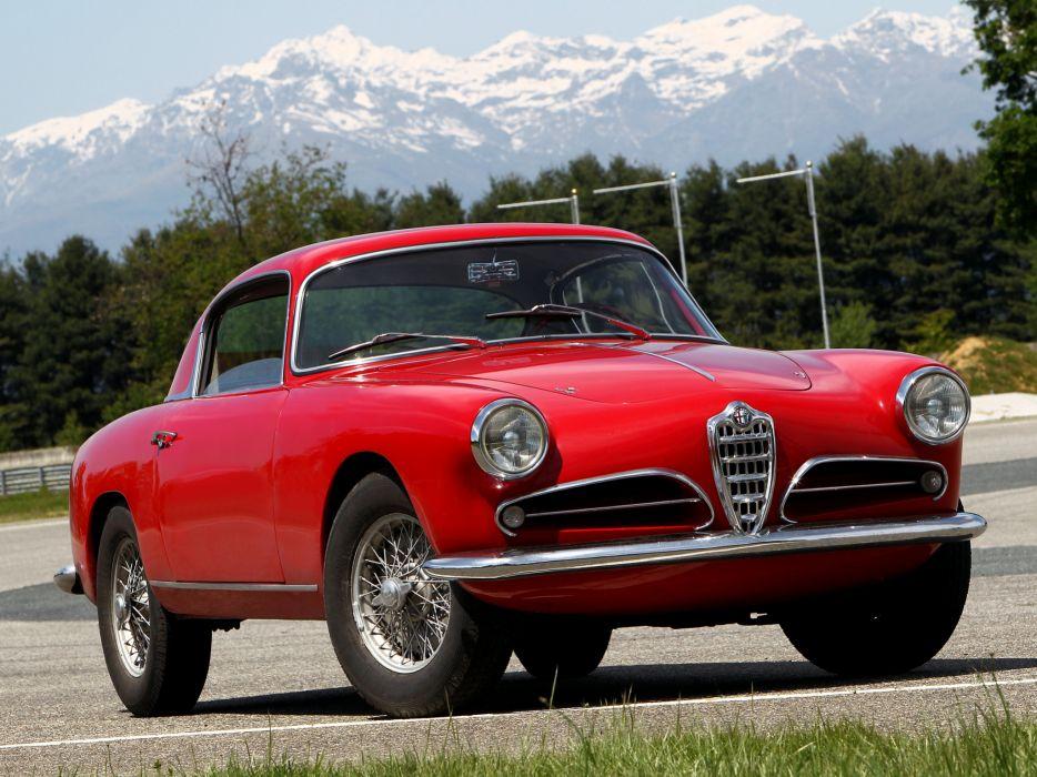 1956-58 Alfa Romeo 1900 Super Sprint (1484) retro i wallpaper