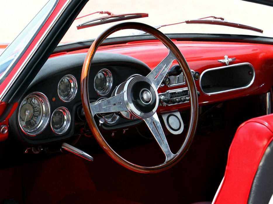 1956-58 Alfa Romeo 1900 Super Sprint (1484) retro interior    g wallpaper