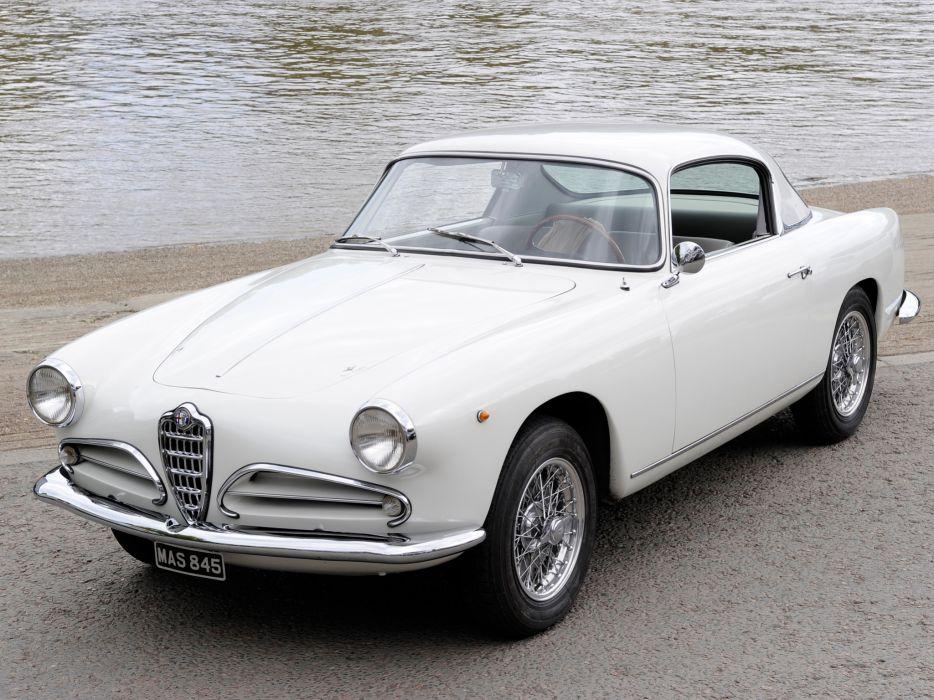 1956-58 Alfa Romeo 1900 Super Sprint (1484) retro  h wallpaper