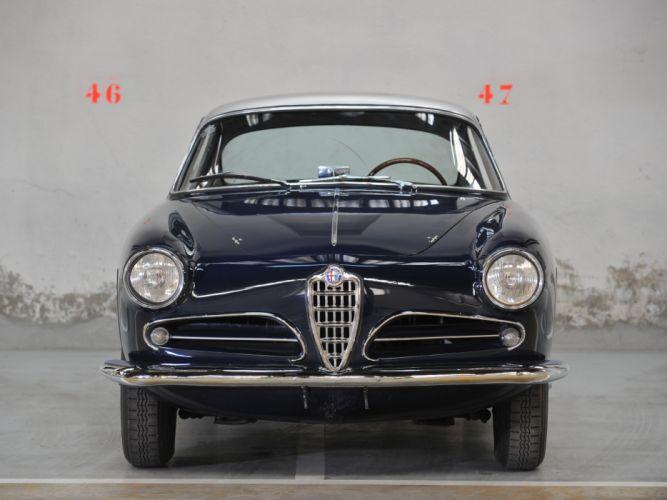 1956-58 Alfa Romeo 1900 Super Sprint (1484) retro r wallpaper