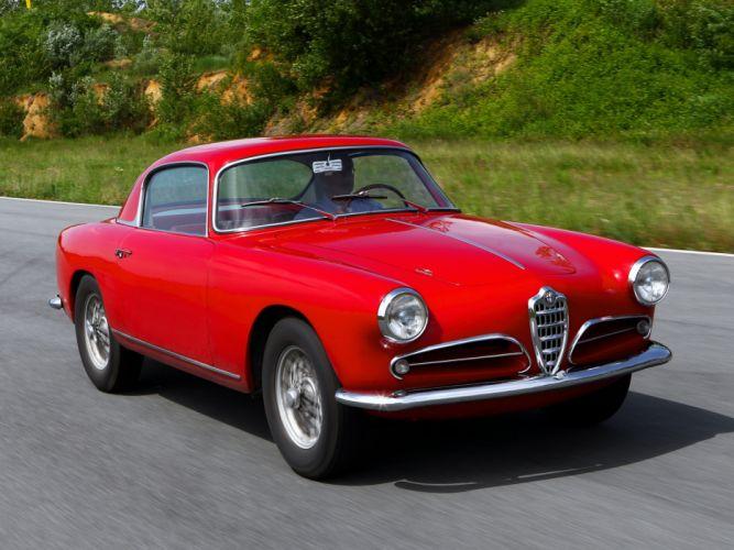 1956-58 Alfa Romeo 1900 Super Sprint (1484) retro b wallpaper