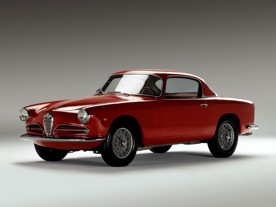 1956-58 Alfa Romeo 1900 Super Sprint (1484) retro  b wallpaper