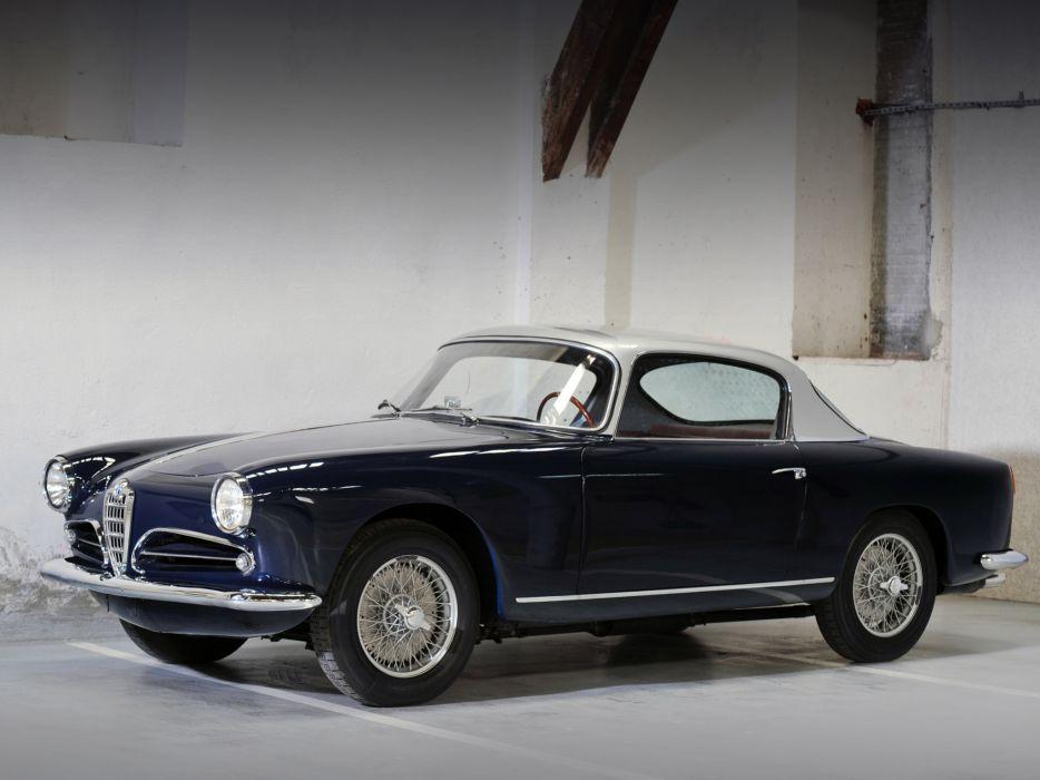 1956-58 Alfa Romeo 1900 Super Sprint (1484) retro  gh wallpaper
