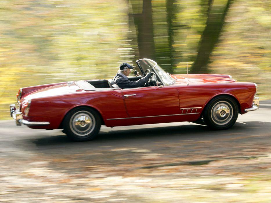 1958-61 Alfa Romeo 2000 Spider (102) retro classic ji wallpaper