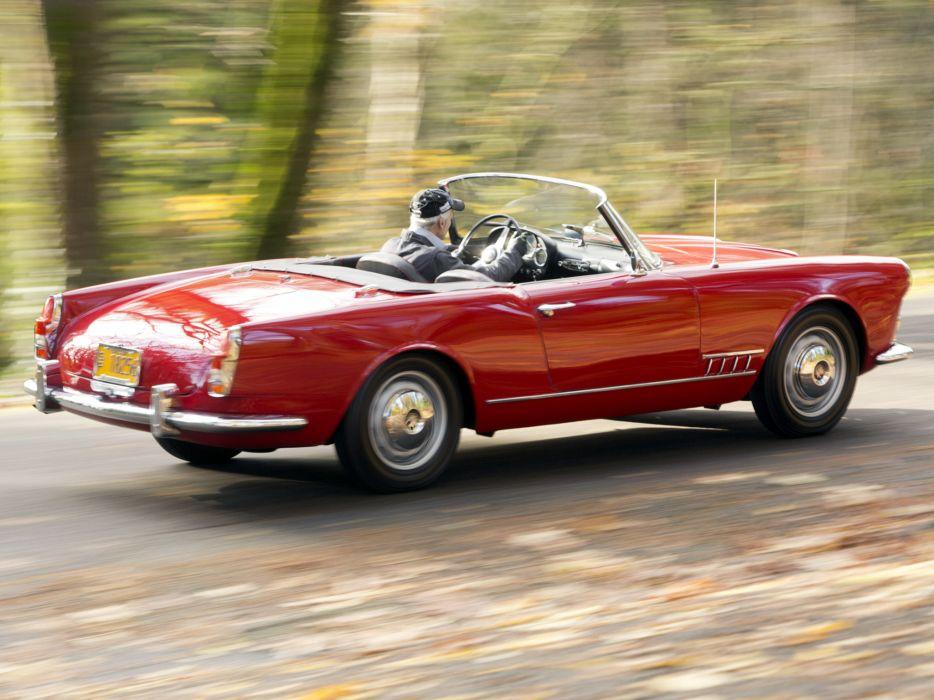 1958-61 Alfa Romeo 2000 Spider (102) retro classic r wallpaper