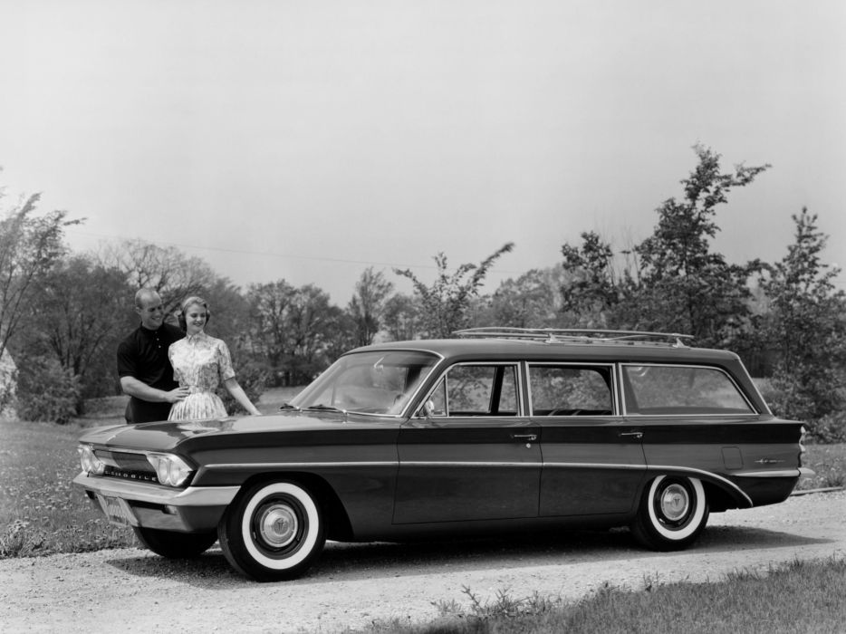 1961 Oldsmobile F-85 Deluxe StationWagon classic      g wallpaper