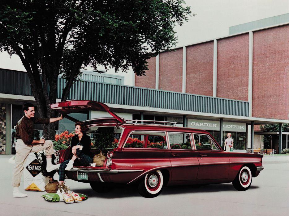 1961 Oldsmobile F-85 Deluxe StationWagon classic  f wallpaper
