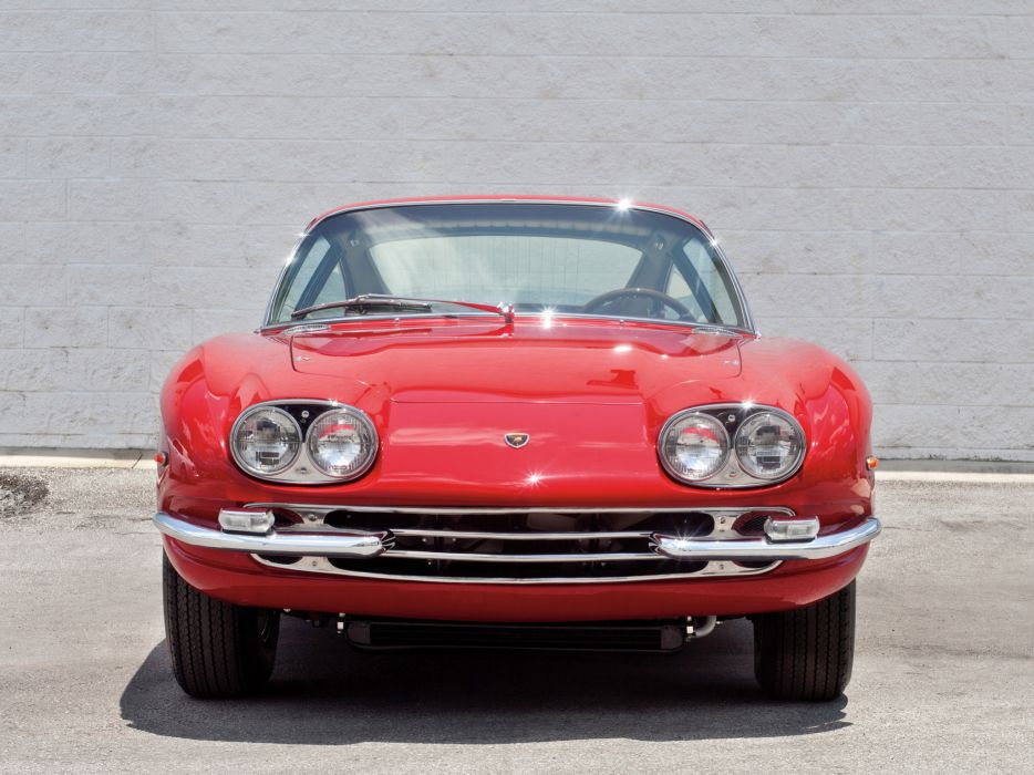1965 Lamborghini 400 G-T supercar  g wallpaper