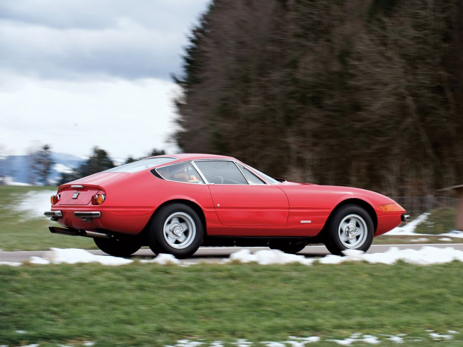 1971-73 Ferrari 365 GTB4 Daytona supercar   j wallpaper