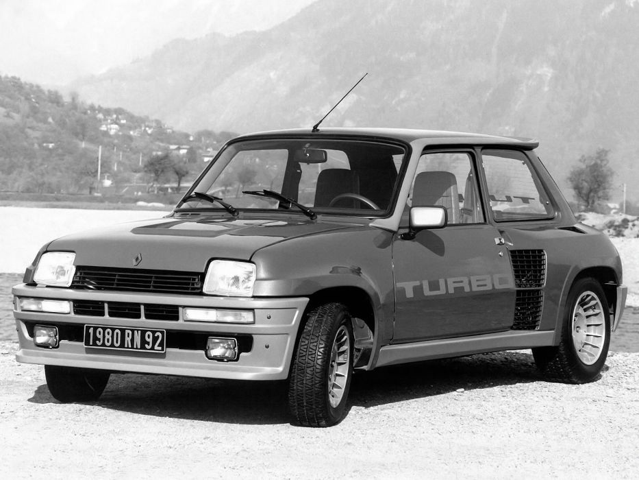 1980 Renault 5 Turbo classic race racing       h wallpaper