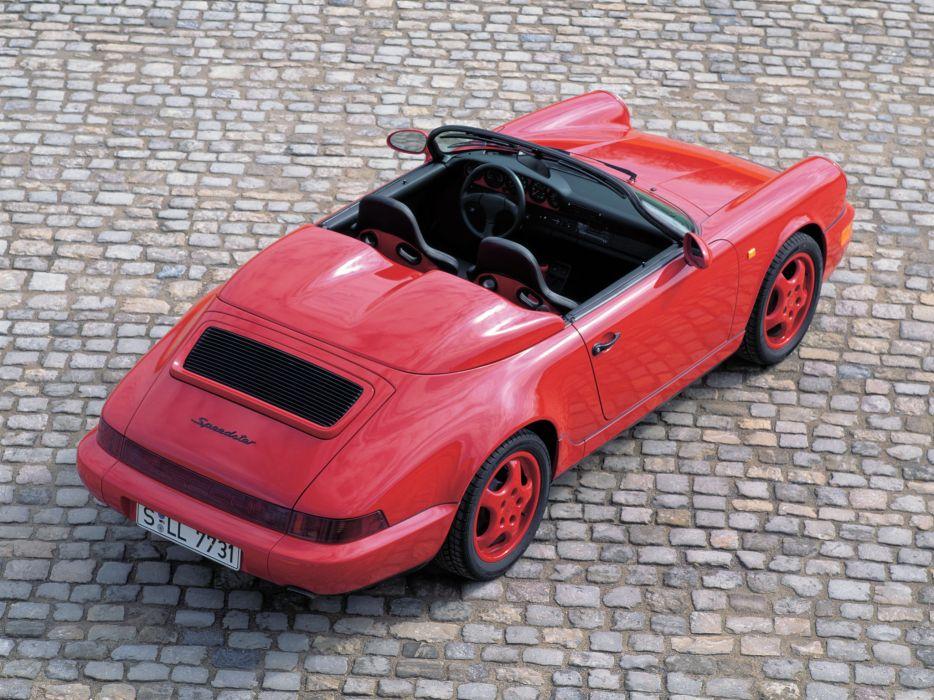 1992-94 Porsche 911 Carrera 2 Speedster (964) supercar  h wallpaper