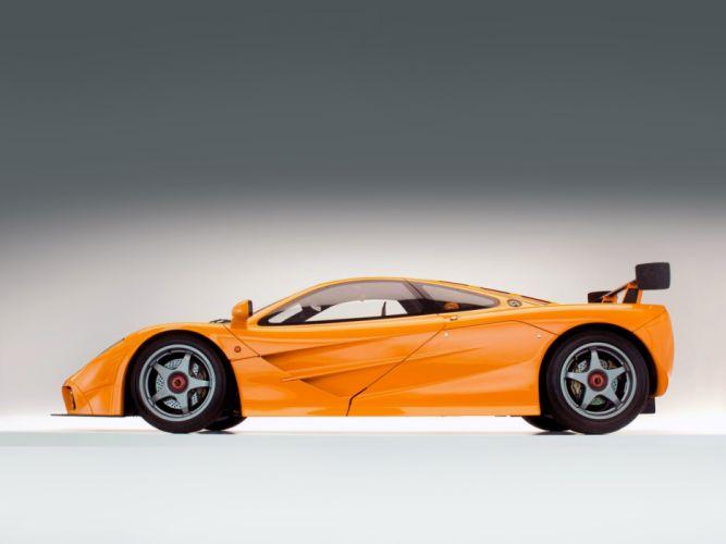 1996 McLaren F-1 LM supercar g wallpaper