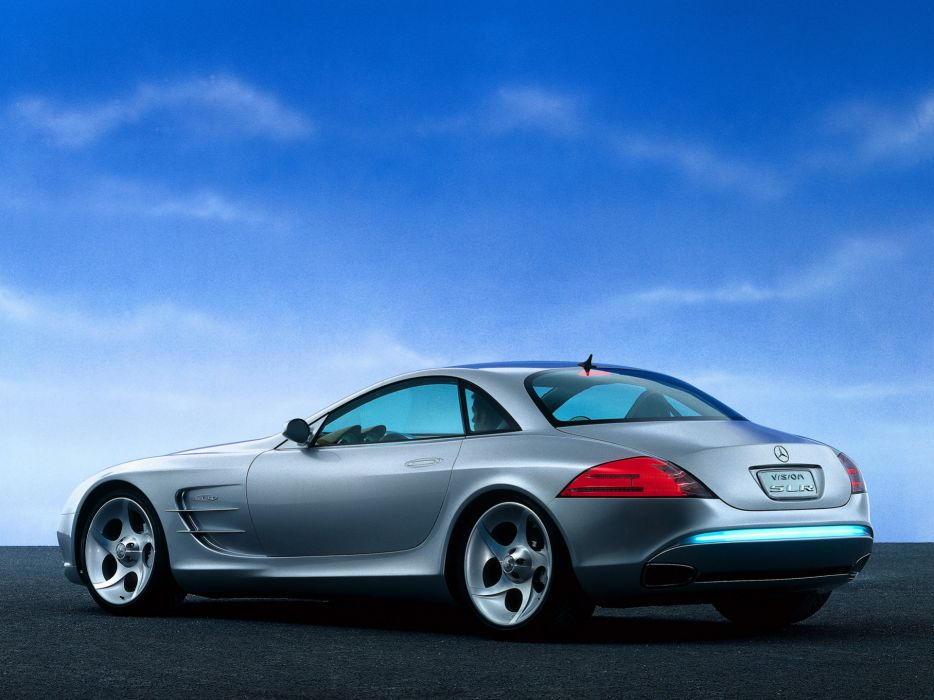1999 Mercedes Benz Vision SLR Concept    fs wallpaper