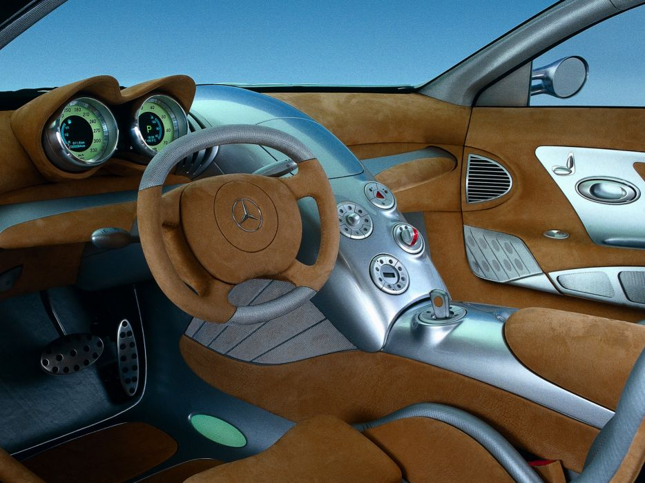 1999 Mercedes Benz Vision SLR Concept interior      g wallpaper