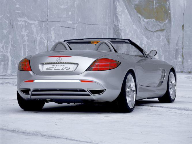 1999 Mercedes Benz Vision SLR Roadster Concept supercar g wallpaper