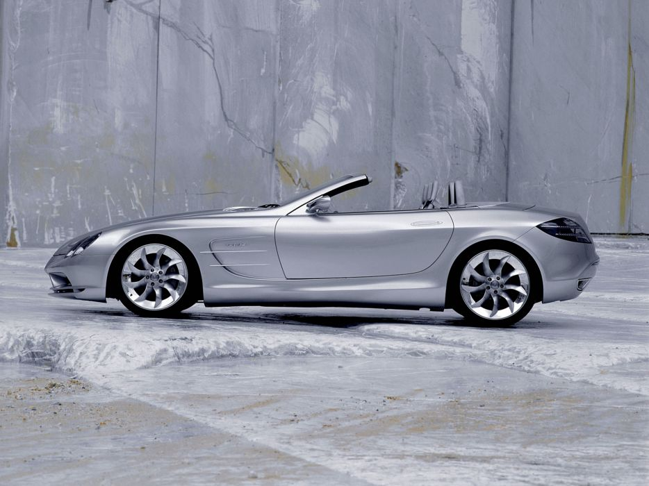 1999 Mercedes Benz Vision SLR Roadster Concept supercar   f wallpaper