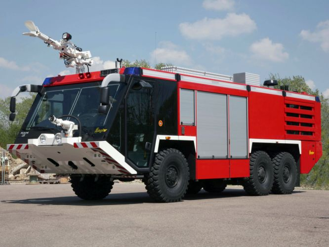 2007 Ziegler Z-6 Airport Feuerwehr firetruck emergency f wallpaper