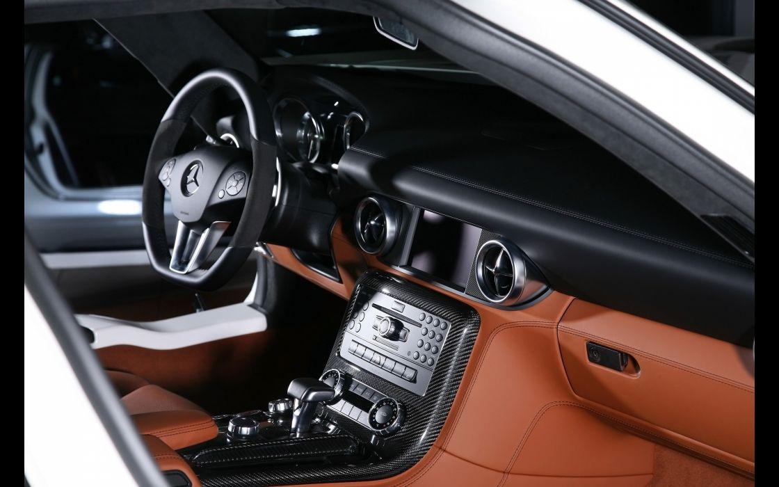 2012 Inden-Design Mercedes Benz SLS AMG Flyer supercar interior     f wallpaper