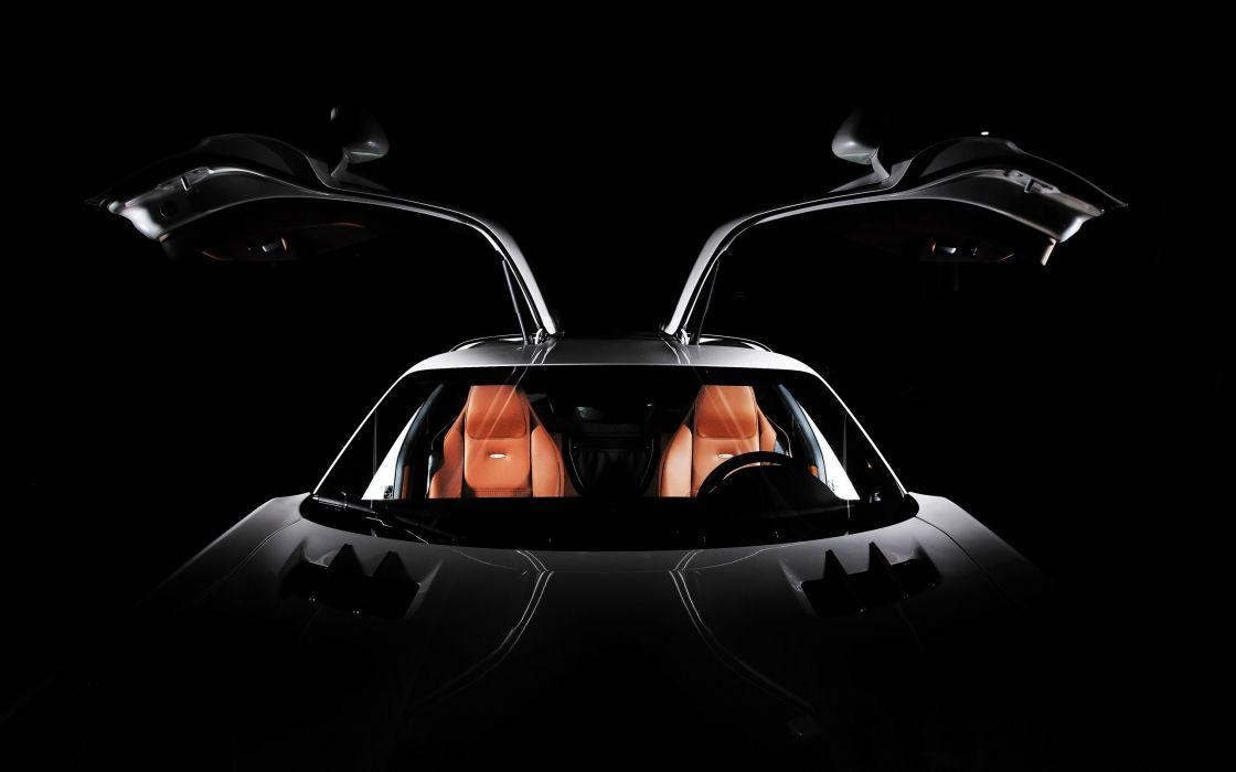 2012 Inden-Design Mercedes Benz SLS AMG Flyer supercar interior      g wallpaper