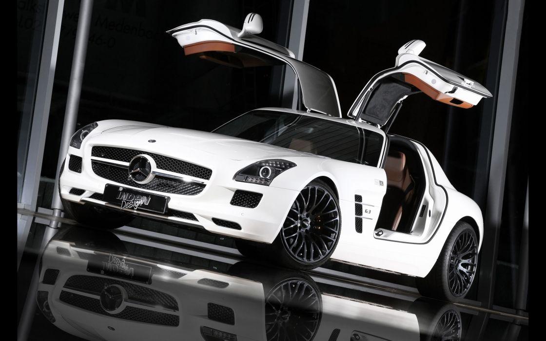 2012 Inden-Design Mercedes Benz SLS AMG Flyer supercar      f wallpaper