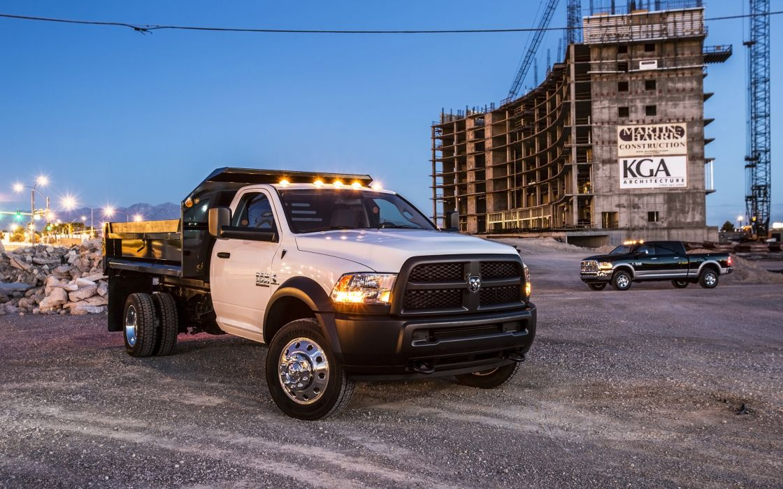 2014 Dodge Ram 5500 4x4 Chassis Cab wallpaper