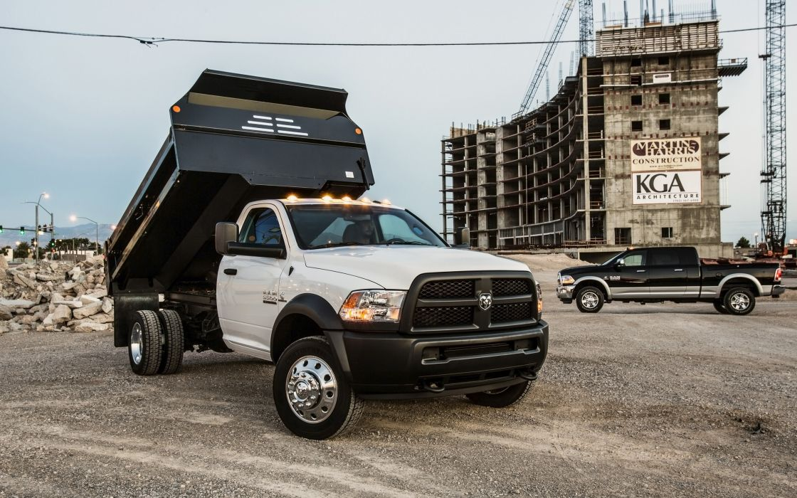 2014 Dodge Ram 5500 4x4 Chassis Cab   f wallpaper