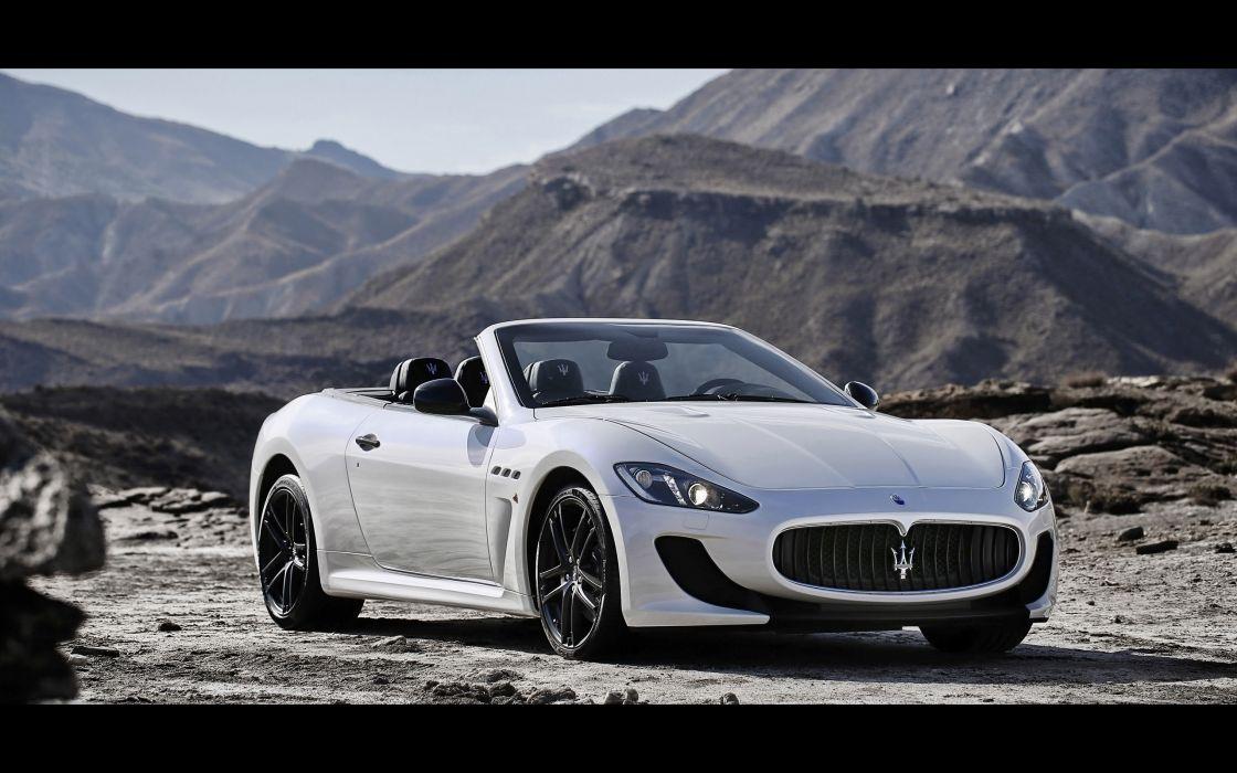 2014 Maserati GranCabrio M-C fd wallpaper