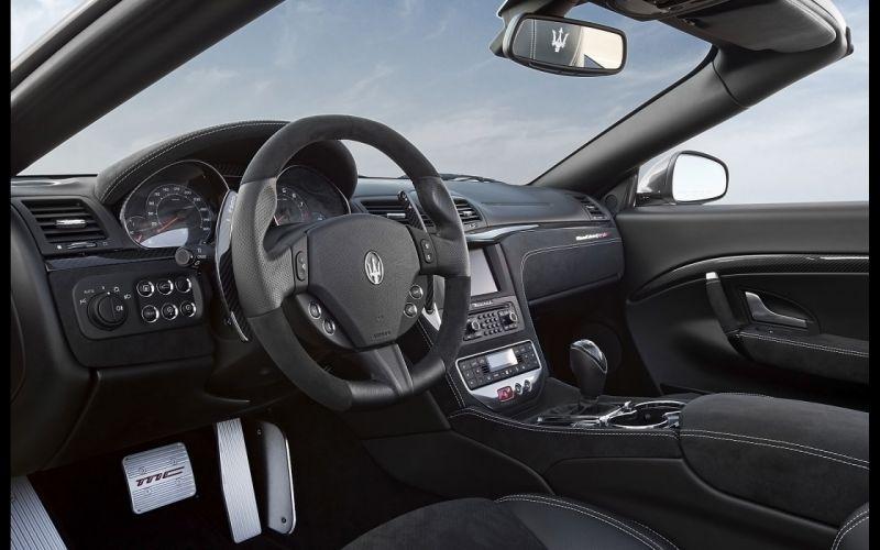2014 Maserati GranCabrio M-C interior f wallpaper