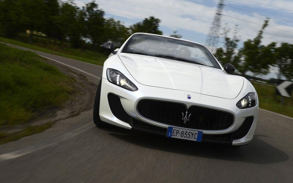 2014 Maserati GranCabrio M-C  gd wallpaper