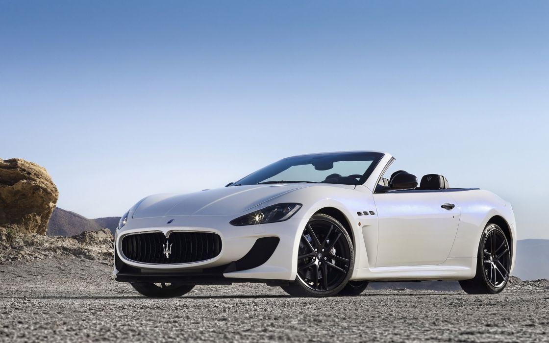 2014 Maserati GranCabrio M-C    g wallpaper
