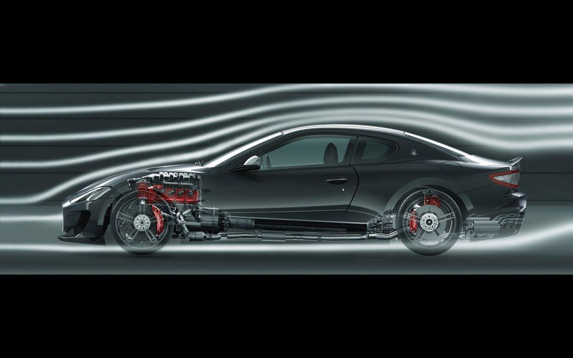 2014 Maserati GranTurismo M-C Stradale engine wheel     g wallpaper