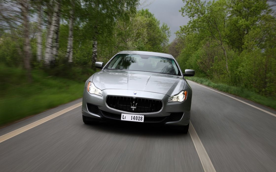 2014 Maserati Quattroporte S SQ4  hd wallpaper