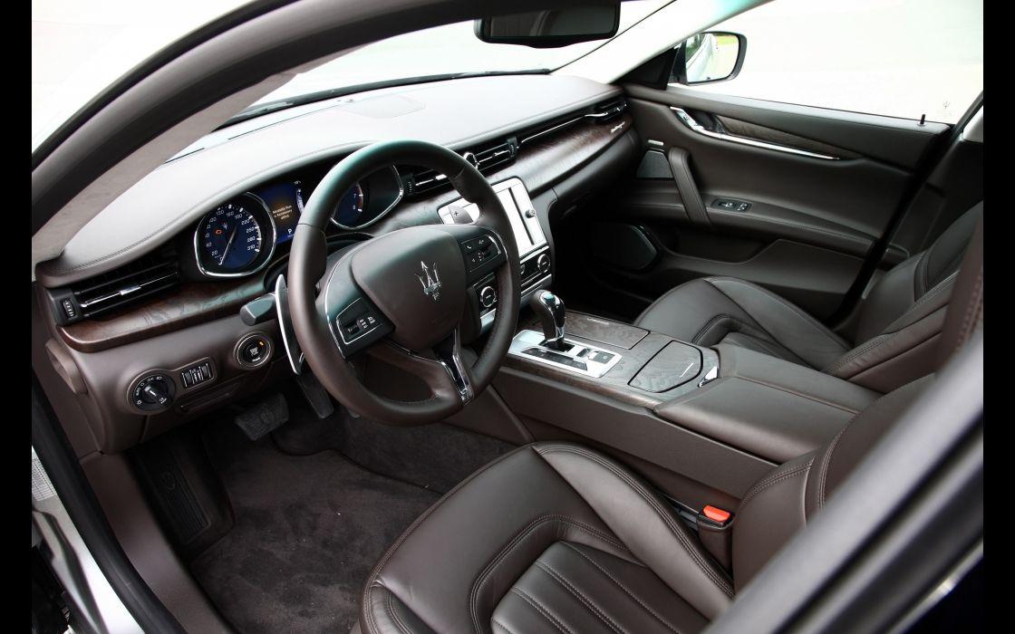 2014 Maserati Quattroporte S SQ4 interior     g wallpaper