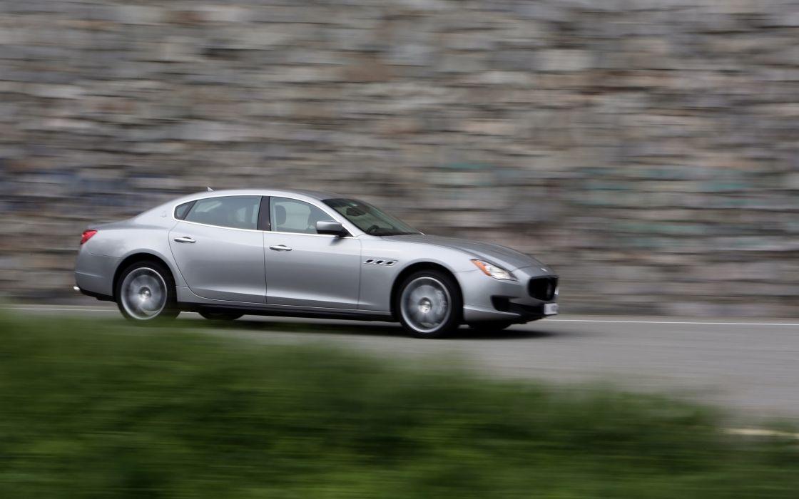 2014 Maserati Quattroporte S SQ4  g wallpaper