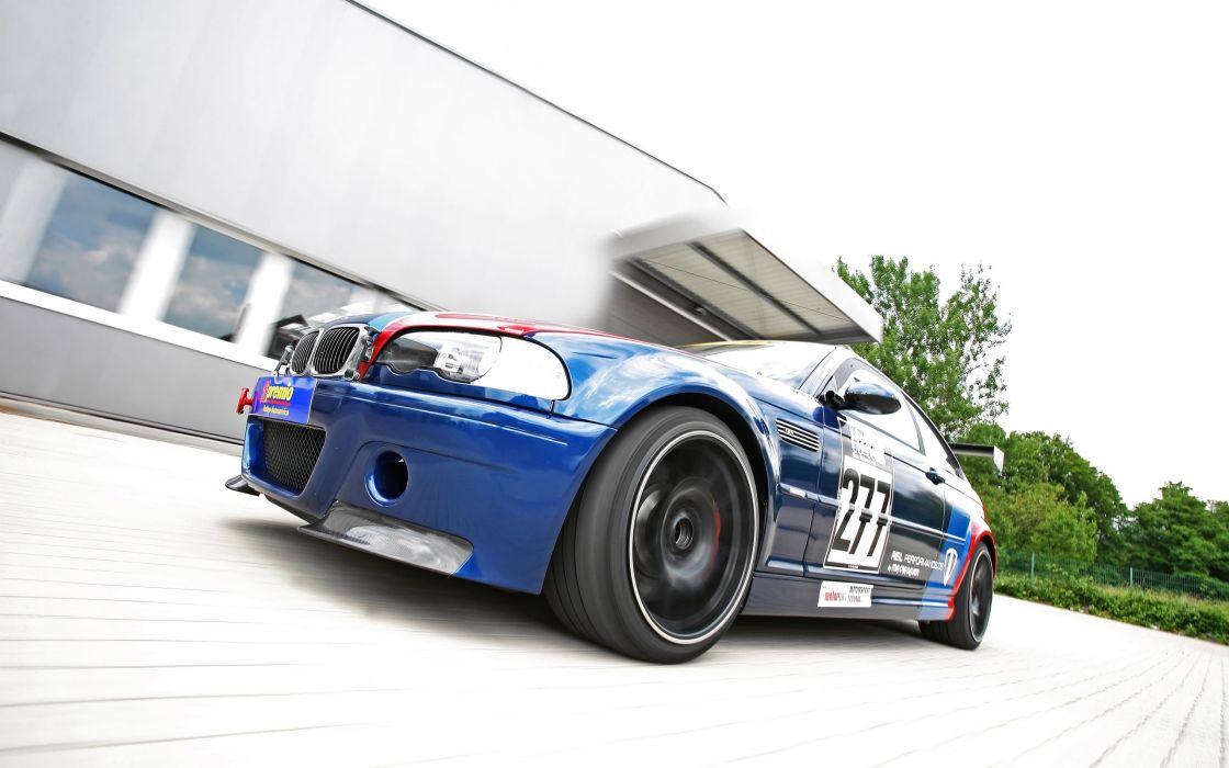 MRcar-Design BMW E46 M-3 CSL tuning race racing wheel       h wallpaper