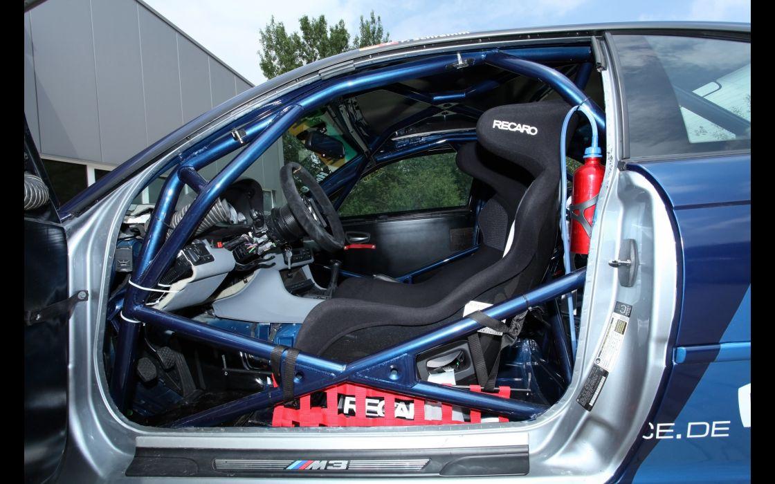 MRcar-Design BMW E46 M-3 CSL tuning race racing interior      g wallpaper