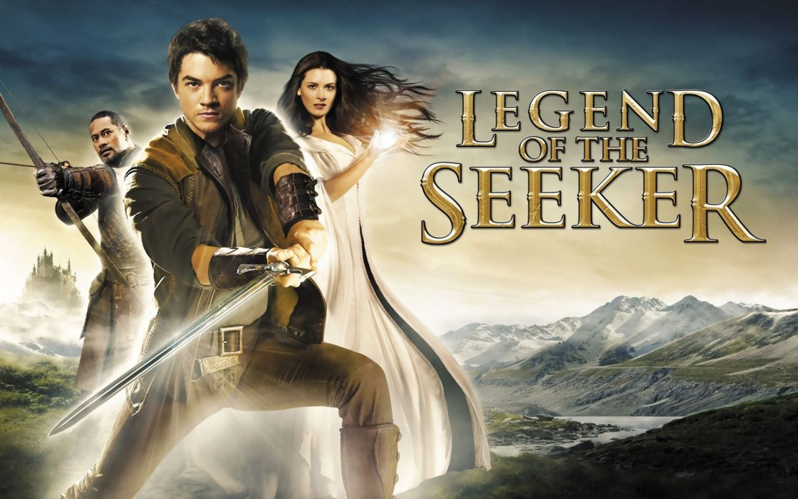 LEGEND OF THE SEEKER adventure drama fantasy (125) wallpaper