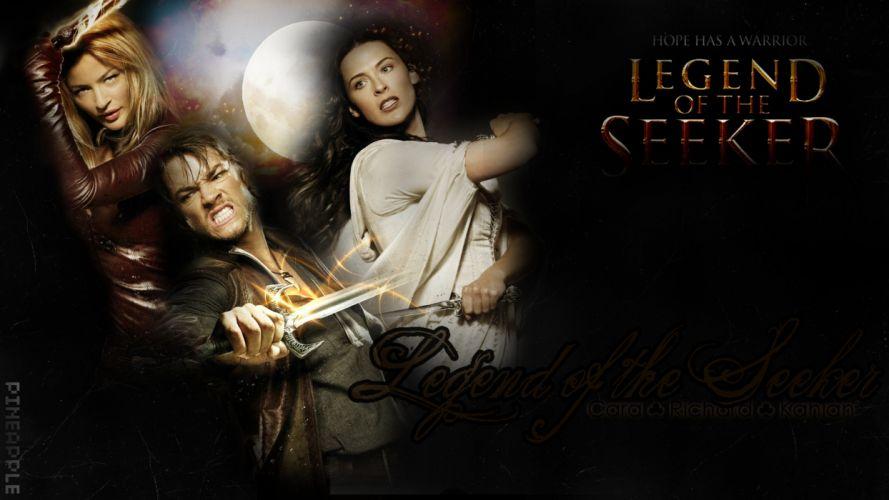 LEGEND OF THE SEEKER adventure drama fantasy (136) wallpaper