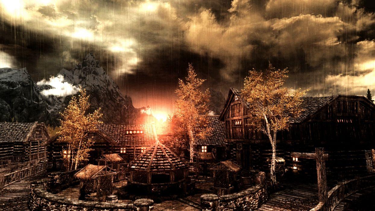 SKYRIM elder scrolls fantasy (43) wallpaper