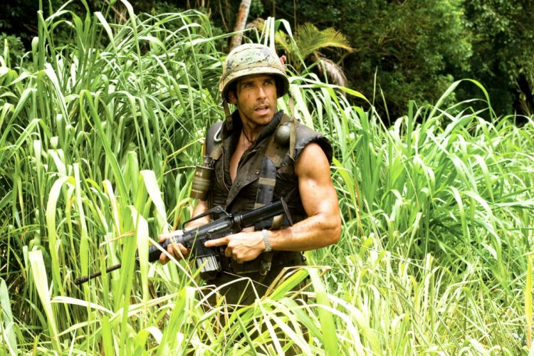 TROPIC THUNDER action comedy military weapon (18) wallpaper