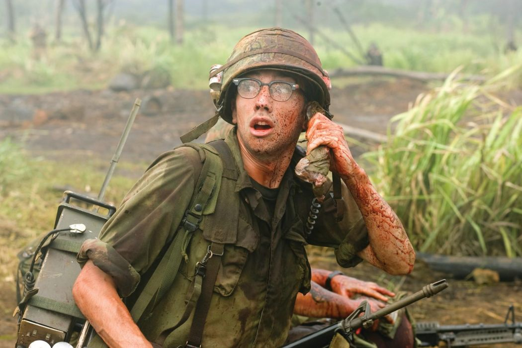 TROPIC THUNDER action comedy military weapon (22) wallpaper