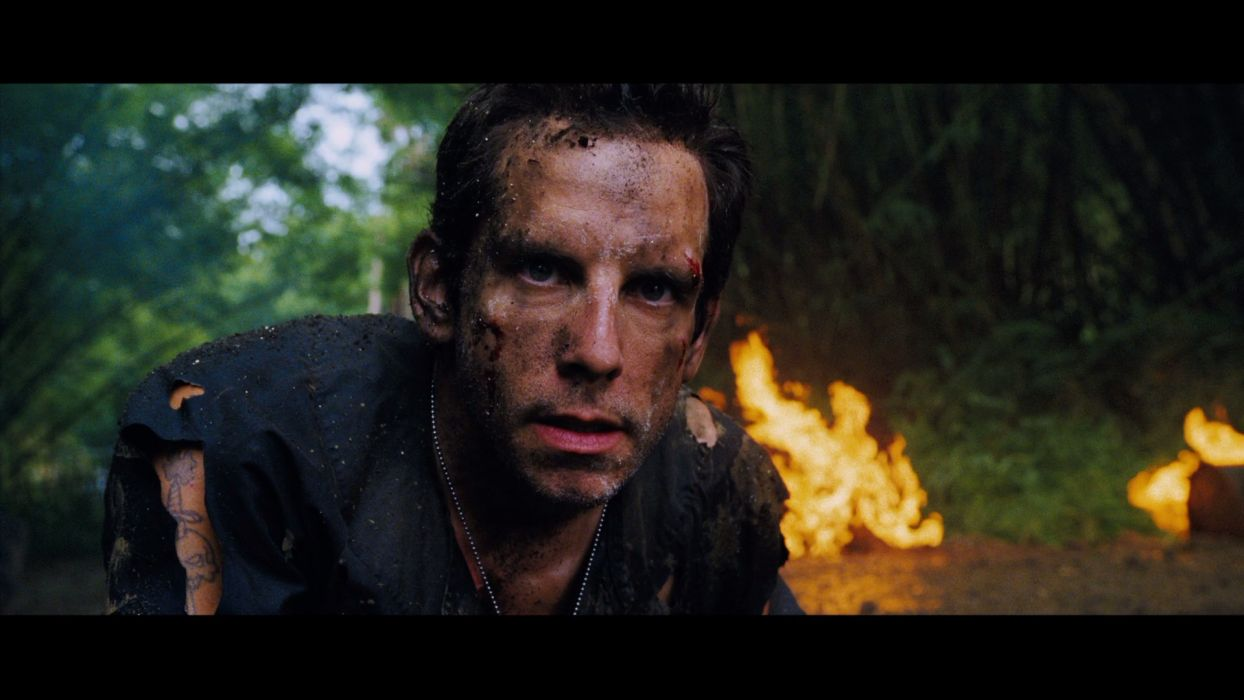 TROPIC THUNDER action comedy military weapon (24) wallpaper