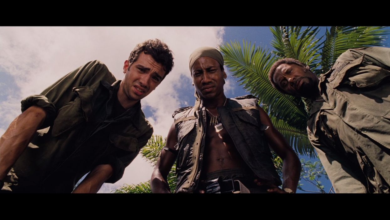 TROPIC THUNDER action comedy military weapon (29) wallpaper